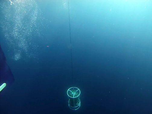 Enviando el CTD a las profundidades