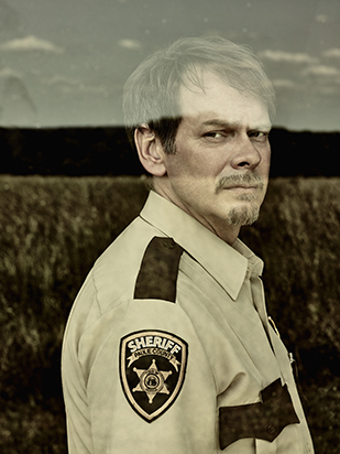 JD Evermore as Sheriff Carl Daggett - Rectify _ Season 4, Gallery - Photo Credit: James Minchin/Sundance TV
