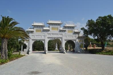 a entrada