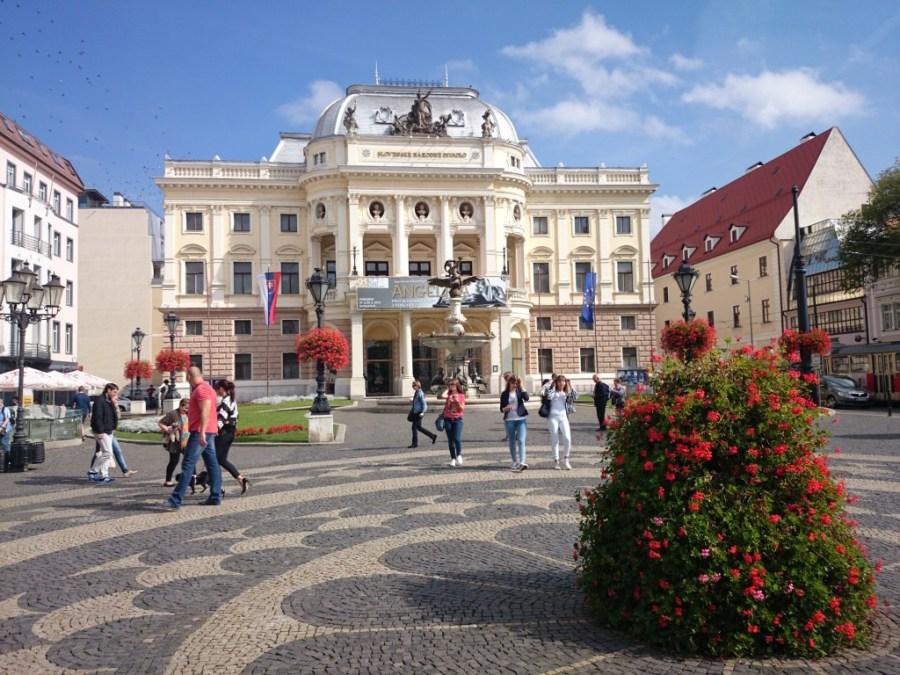 Qué ver en Bratislava .