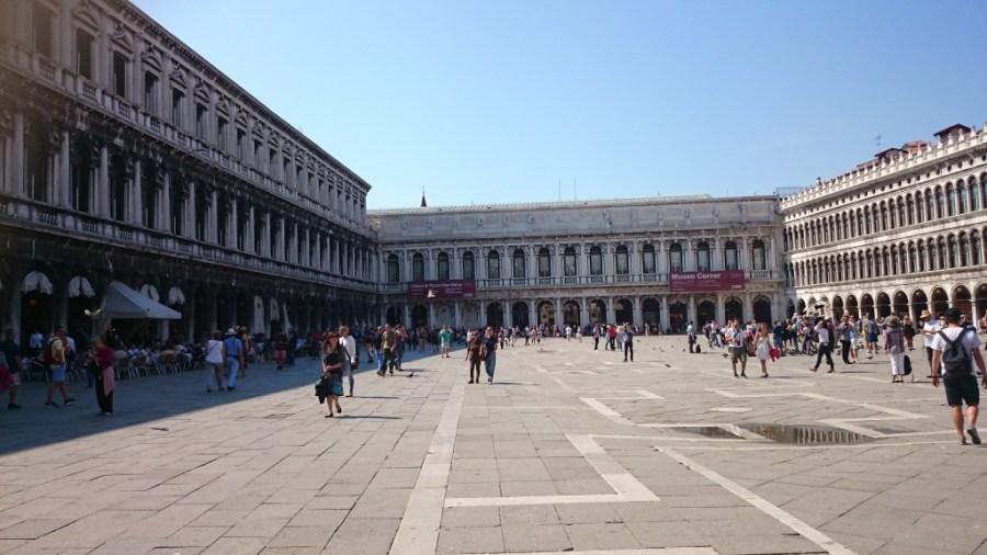 Qué ver en Venecia. Plaza San Marco.