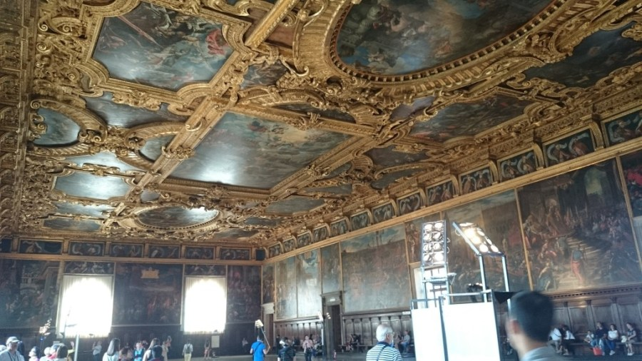 Sala del Maggior Consiglio. Palacio Ducal.