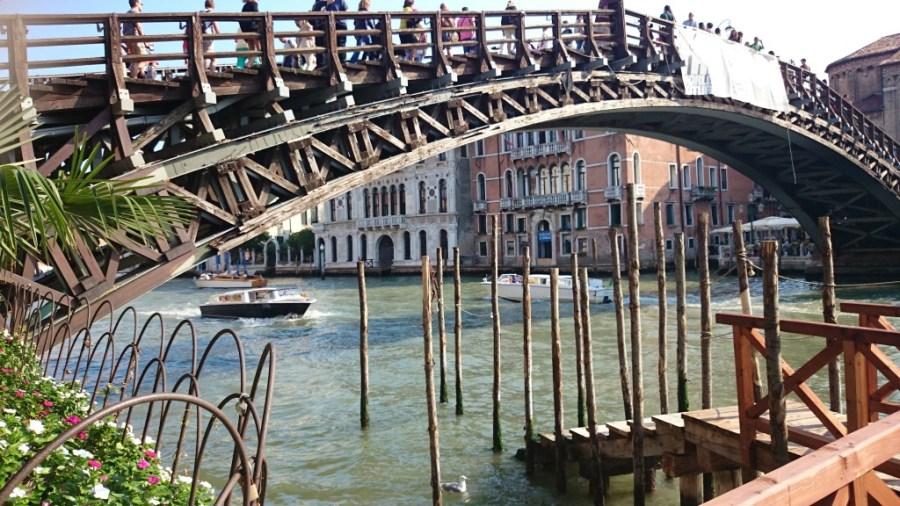 Qué ver en Venecia. Puente de la Academia.