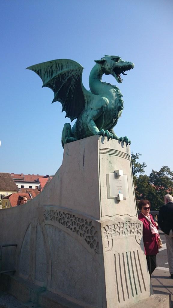 Qué ver en Liubliana. Dragones.