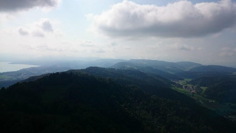 Vistas desde el Monte Üetliberg. Zurich.