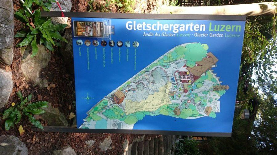 Jardín de los Glaciares.
