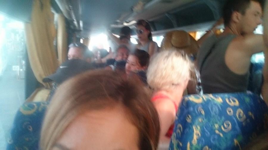 Buses a las playas de Mykonos