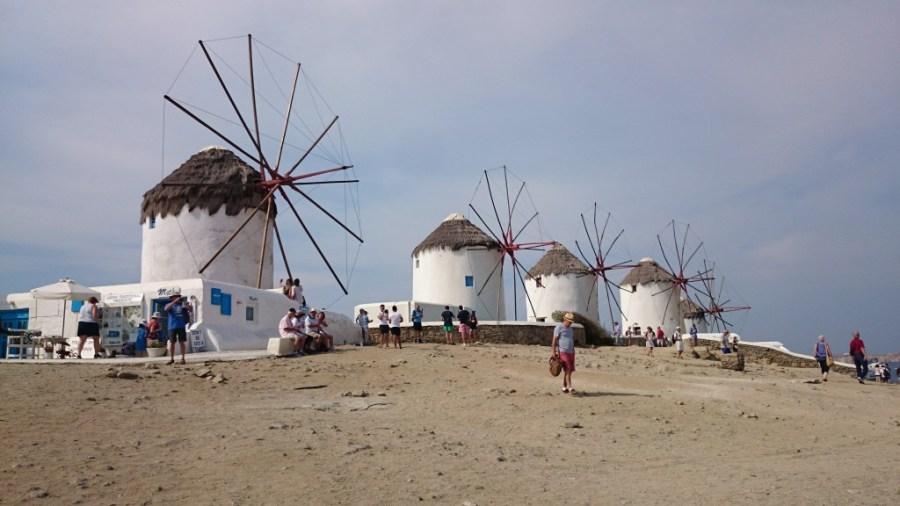 Qué ver en Mykonos: imprescindibles son sus molinos.