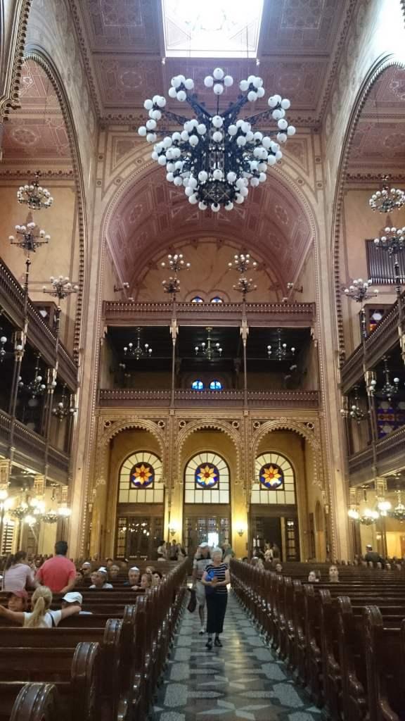Budapest en 3 días. Interior de la Gran Sinagoga