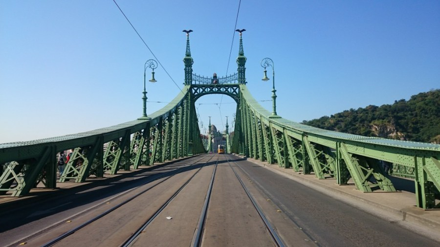 Budapest en 3 días. Puente de la Libertad.