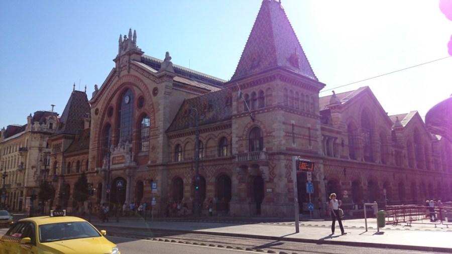 Budapest en 3 días. Mercado Central.