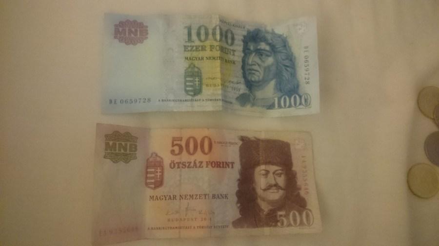 Moneda en Hungría