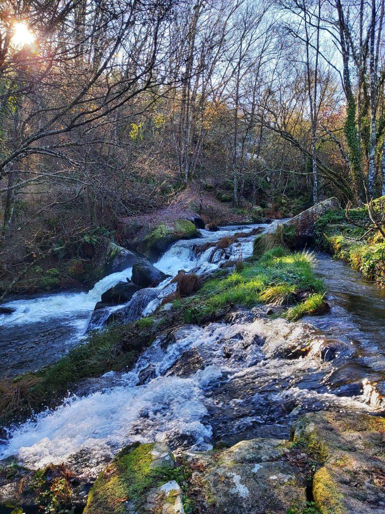 Saltos de agua en Ruta das Chousas