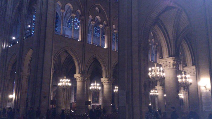 Notre Dame, interior.