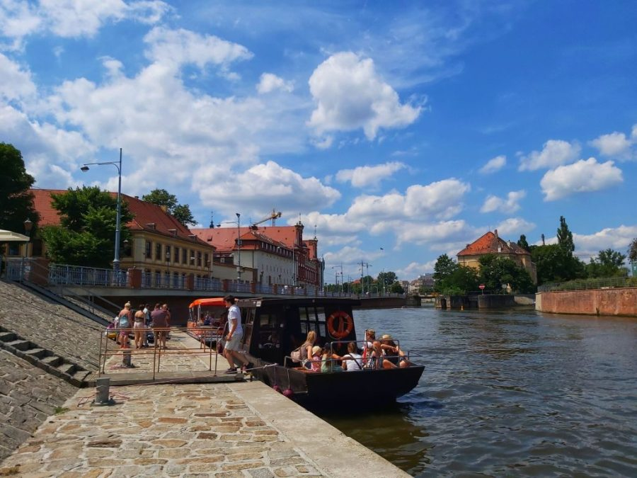 Qué ver en Breslavia, Paseo Oder