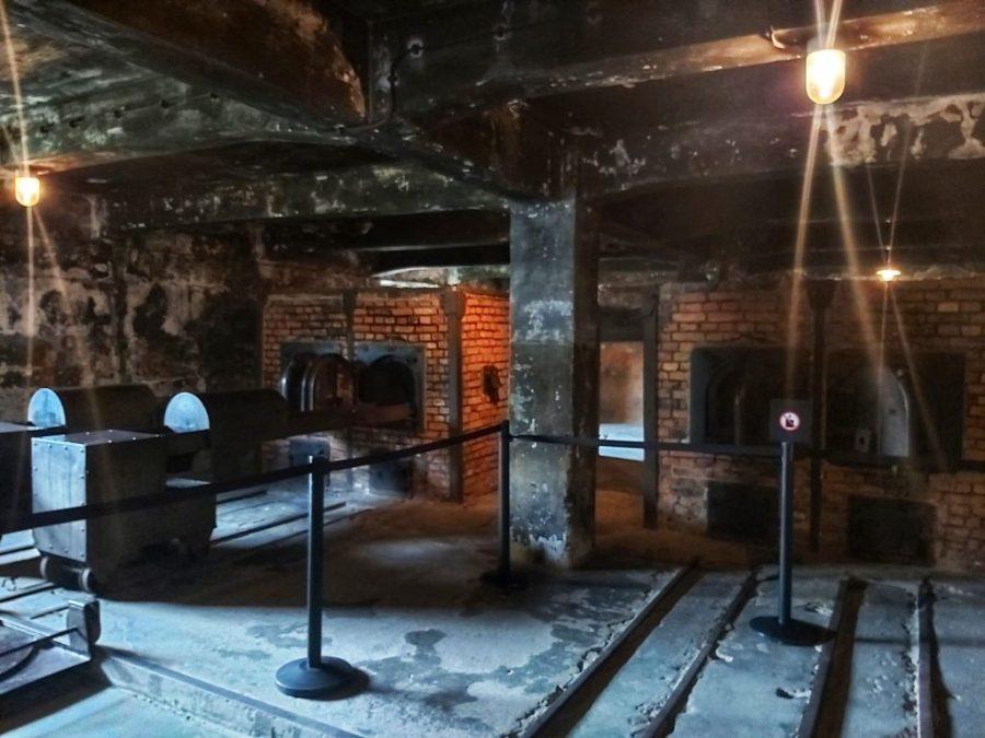 Características del campo de concentración de Auschwitz. Crematorio.