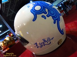 Salão Automoveis 2014 homenagem Ayrton Senna capacete Zezão (15.1)