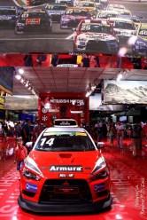 Salão Automovel 2014 carros competição Mitsubishi Lancer (02)