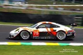 (a) Porsche 911 RSR #75 (01)