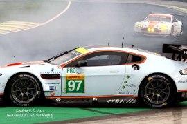 Fia Wec 2014 acidente Aston Martin #97 (05)