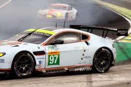 Fia Wec 2014 acidente Aston Martin #97 (06)