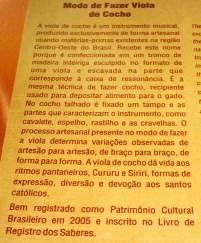 Patrimonio Imaterial Brasileiro.22