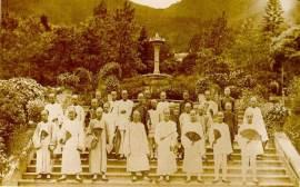 1869年香港市民瀏覽植物園Botanical garden/Jardim Botânico