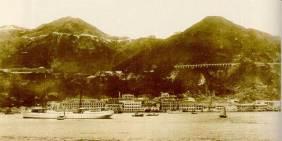 1890年港仔海旁Wanchai