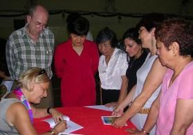 Ao lado do Totó, Edite Guerreiro, Delfina Silva, Dulcineia Fernandes, Anne Marie Remédios e Natércia Luís