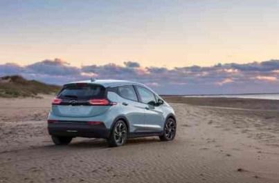Chevrolet presentó el Bolt EV y Bolt EUV del 2022