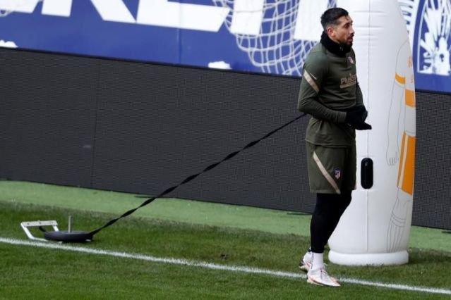 Atlético de Madrid recupera Héctor Herrera
