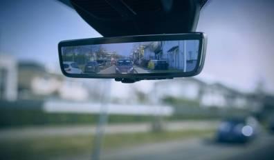 """El nuevo """"espejo retrovisor inteligente"""" de Ford"""