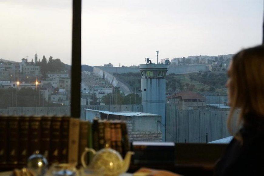 Vistas del hotel con la peor vista del mundo en Belén