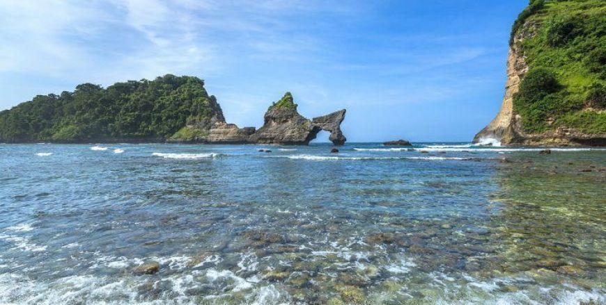 Artuh Beach, uno de los mejores lugares que ver en Nusa Penida