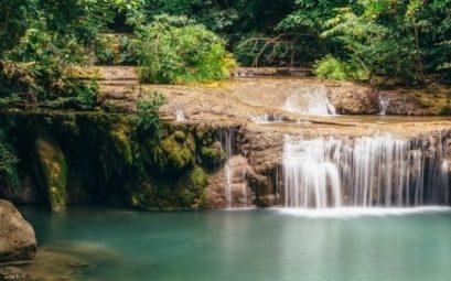 Cascada Erawan Kanchanaburi