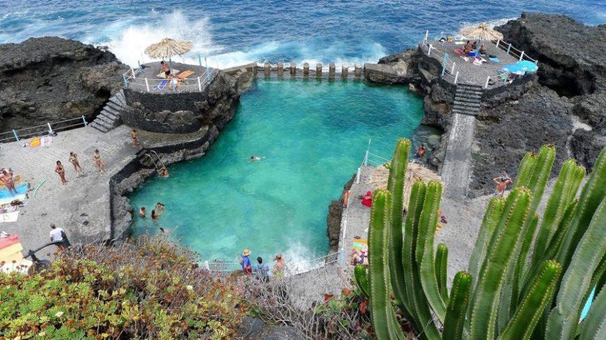 Piscina natural Charco Azul La Palma