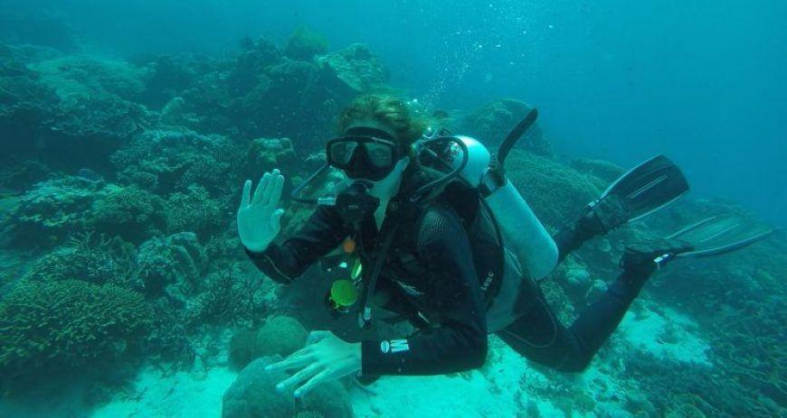 Bucear en Komodo es una de las mejores experiencias en Indonesia
