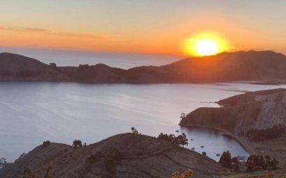 Puesta de sol - Isla del Sol