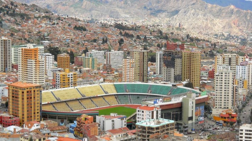 Estadio Hernando Siles La Paz