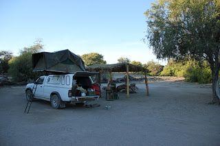 Camping en Sesfontein