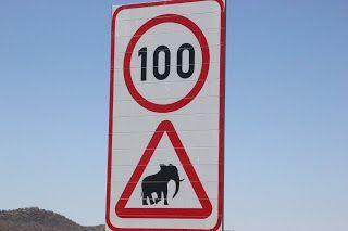 Señal Peligro Elefantes