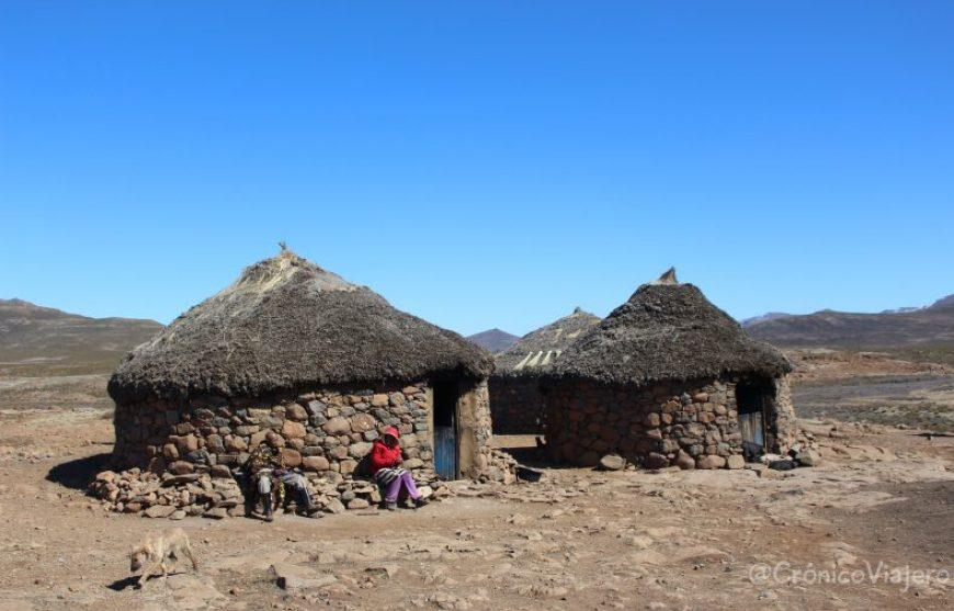 Casas típicas Lesotho