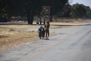 Carretera franja caprivi
