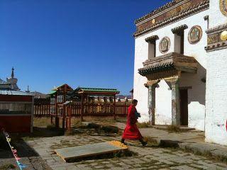 Monasterio Erdene Zuu, Mongolia