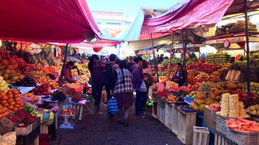 La comida es una parte importante del presupuesto para viajar a Bolivia