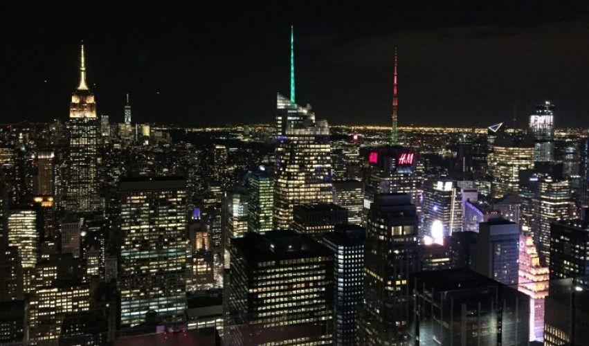 vistas nocturnas, una de las cosas que ver en New York