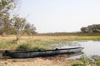 Mokoro en Delta Okavango