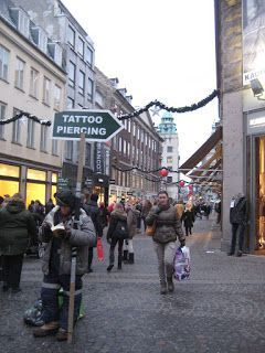 Calle Stroget, Copenhague