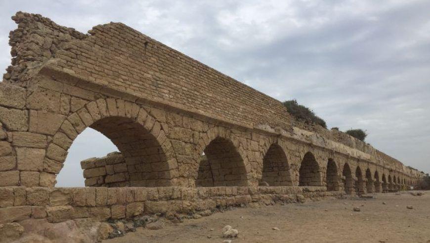 Acueducto romano Cesarea, Israel