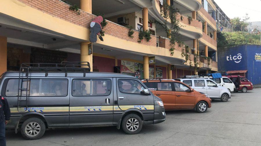 Terminal de buses de Coroico